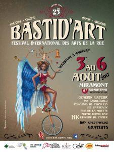 Affiche Festival Bastid'Art 2017 - ABC